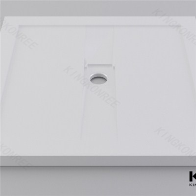 Gel Coated Bathroom Shower Tray Stone Resin Shower Trays
