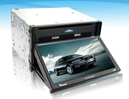 7 inch car dvd with GPS with TV