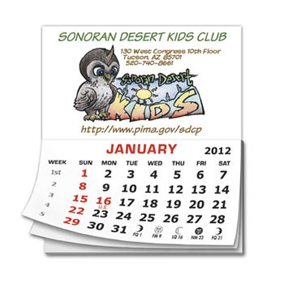CPad 12 Month Calendar 2.75inch X 3.5inch Magnets