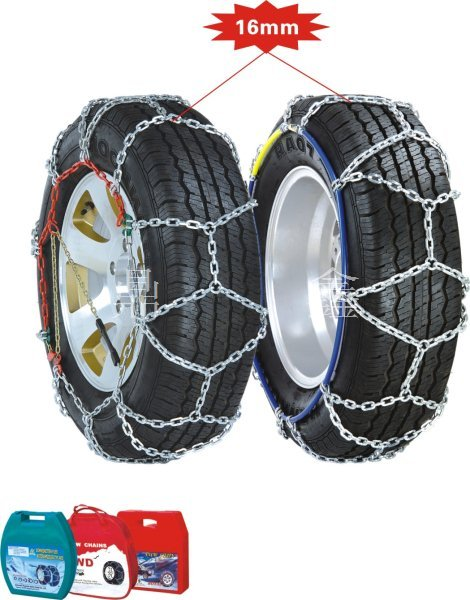 4WD Type Snow Chain Quenching Electroplating
