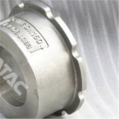 Piston Lift Wafer Check Valve