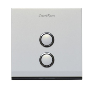 Contact NowSmart Wall Switch Two Gang L 10A SRZCSWLPWS132101