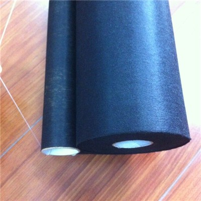 Black PET Nonwoven Rolls