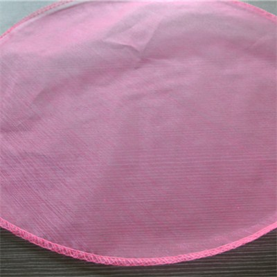 Round Organza Sheet With Sewing