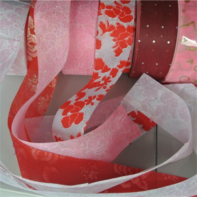 Printed Nonwoven Ribbons