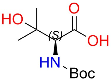 Boc-(S)-2-amino-3-hydroxy-3-methylbutanoic Acid