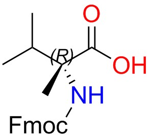 Fmoc-(R)-2-amino-2,3-dimethylbutanoic Acid