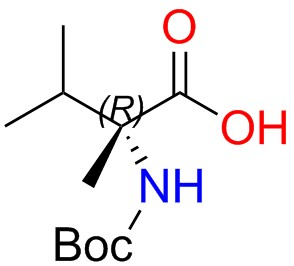 Boc-(R)-2-amino-2,3-dimethylbutanoic Acid