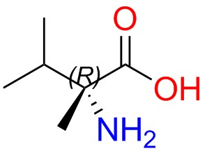 (R)-2-amino-2,3-dimethylbutanoic Acid
