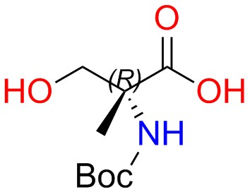 Boc-(S)-2-amino-2-methyl-3-hydroxypropanoic Acid
