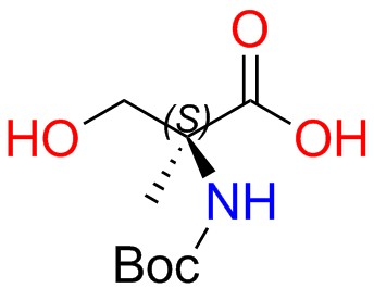 Boc-(R)-2-amino-2-methyl-3-hydroxypropanoic Acid