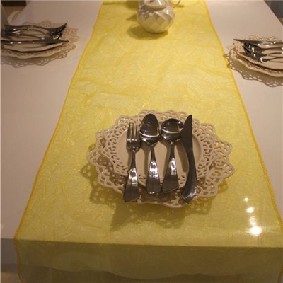 Crepe Organza Table Runner