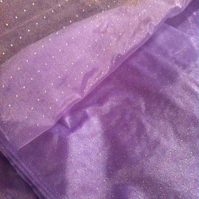 Sequins Organza Fabric