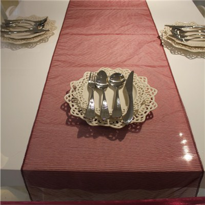Stripe Organza Table Runner