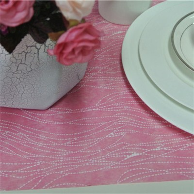 Lines Printed Nonwoven Table Runner