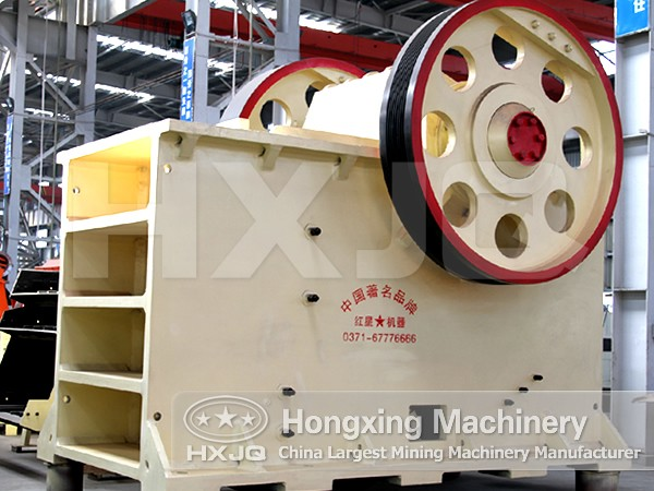 Jaw Crushing Plant/Production of Jaw Crushing Plant/The High-efficient Jaw Crusher