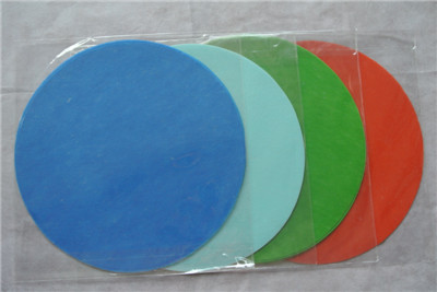 Round Nonwoven Sheet For Palcemat