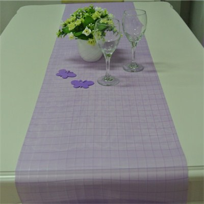 Woven Organza Table Runner