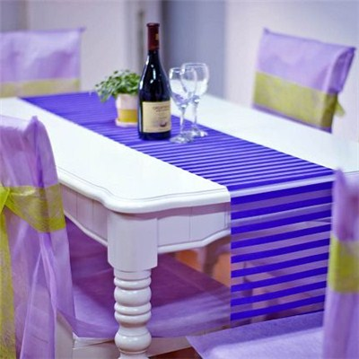 Organza Table Runner And Decorations