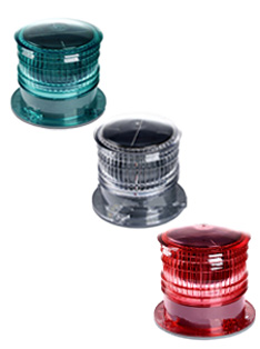 Solar Offshore Warning Light For Gas And Oil Platform