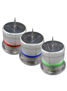 Forest Fireproofing Solar Warning Light