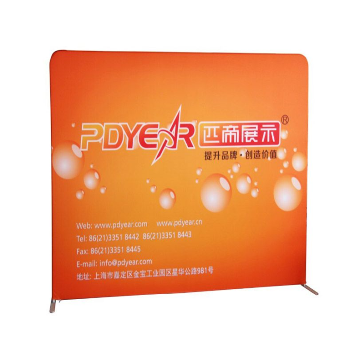 Tension Fabric Display KZ-Wall-Straight-3x4