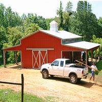 Steel Structure Farm Shed