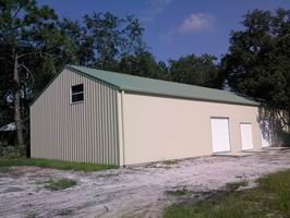 Steel Structure Car Garage