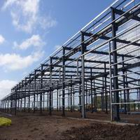 .Large Span Steel Construction Structures