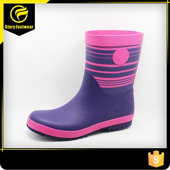 Waterproof Lightweight Safety Rain Boots