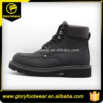 Steel Toe Men Goodyear Welt Safety Shoes
