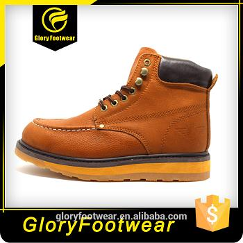 Pu Goodyear Welt Safety Shoes
