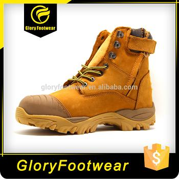 Leather Mining Safety Shoes