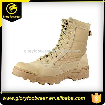 Leather Military Boots Police Shoes