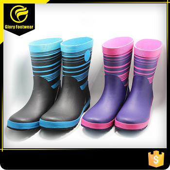 Fashion Rubber Rain Boots For Kids
