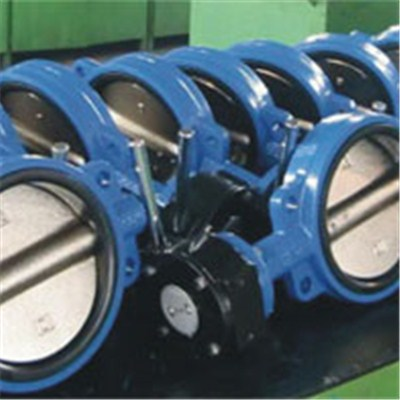Marine Cast Iron Butterfly Valve