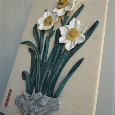 Artificial stone solid surface made painting BAO-BS003