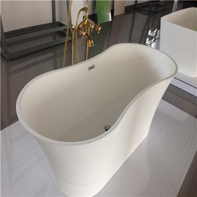 Acrylic solid surface bathtub BAT-005
