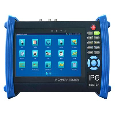 7 Touch Screen All In One CCTV Camera Tester (IPCT8600HDA)