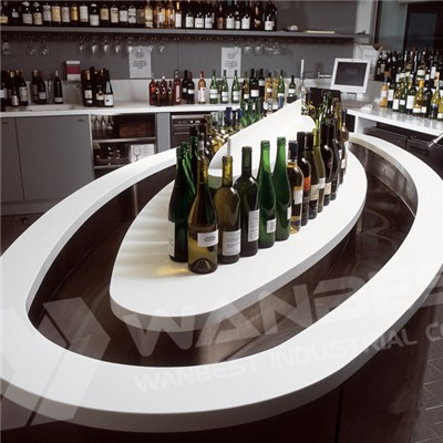 Corian White Wine Bar