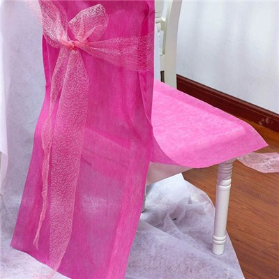 Nonwoven Chair Cover With Sash