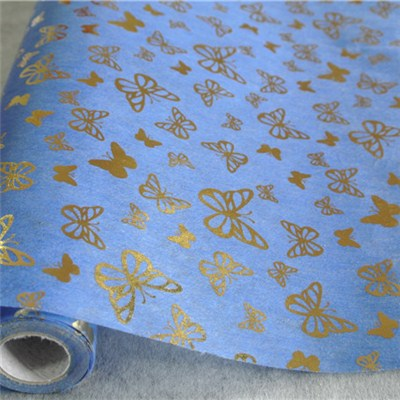 Butterfly Printed Nonwoven Rolls