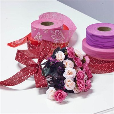 Nonwoven Ribbon For Flower Packing