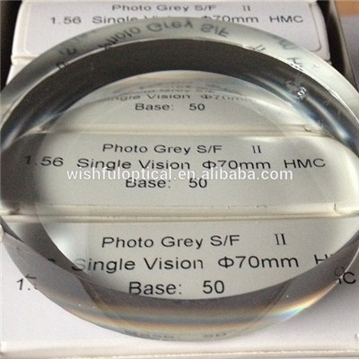 1.56 Photogrey Single Vision Semi Finished Lens
