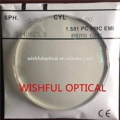 Polycarbonate Photochromic Lens
