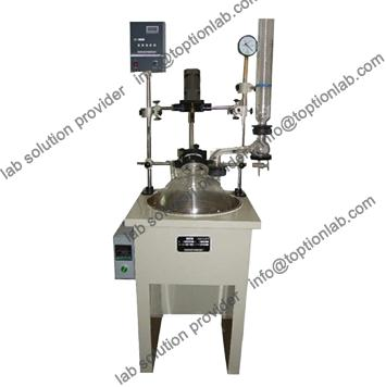 Laboratory Single Layer Glass Reactor