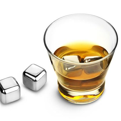IC001 Stainless Steel Barware Square Ice Cube Whisky Cube Different Sizes