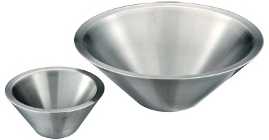 MB002 Stainless Steel Barware Double-walled Salad Bowl/Mixing Bowl/Fruit Bowl