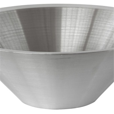 MB003 Stainless Steel Barware Double-walled Salad Bowl/Mixing Bowl/Fruit Bowl