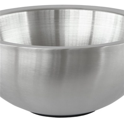 MB011 Stainless Steel Barware Double-walled Salad Bowl Mixing Bowl Fruit Bowl